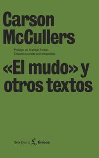 """Libro """"EL MUDO"""" Y OTROS TEXTOS"""