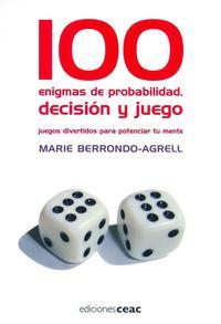 Libro 100 ENIGMAS DE PROBABILIDAD, DECISION Y JUEGO
