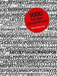 Libro 1000 FUENTES TIPOGRAFICAS
