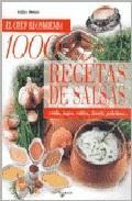 Libro 1000 RECETAS DE SALSAS