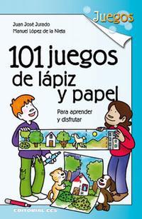 Libro 101 JUEGOS DE LÁPIZ Y PAPEL