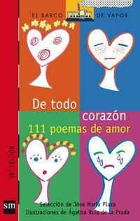 Libro 111 POEMAS DE AMOR ; DE TODO CORAZON