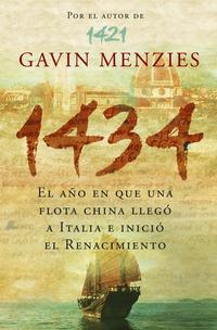 Libro 1434:EL AÑO EN QUE UNA FLOTA CHINA LLEGO A ITALIA E INICIO EL REN ACIMIENTO