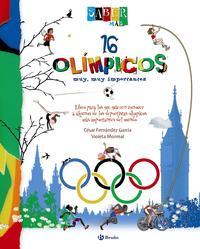 Libro 16 OLIMPICOS MUY, MUY IMPORTANTES: SABER MAS