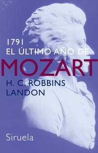 Libro 1791: EL ULTIMO AÑO DE MOZART