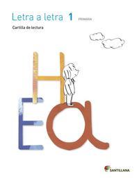 Libro 1º PRIMARIA CARTILLA LECTURA LETRA A LETRA EDICION  2014