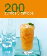 Libro 200 ZUMOS Y BATIDOS