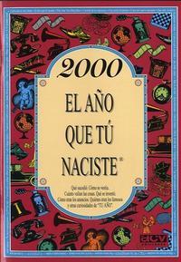 Libro 2000 EL AÑO QUE TU NACISTE