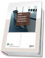 Libro 2000 SOLUCIONES SOCIEDADES MERCANTILES 2010
