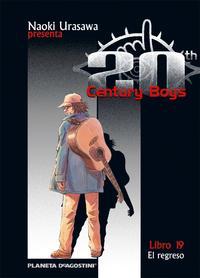 Libro 20TH CENTURY BOYS Nº 19