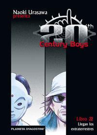 Libro 20TH CENTURY BOYS Nº 22