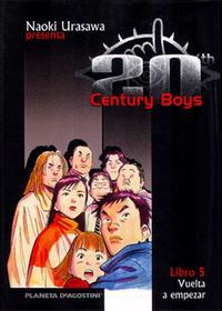 Libro 20TH CENTURY BOYS Nº5