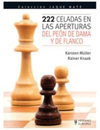 Libro 222 CELADAS EN LAS APERTURAS DEL PEON DE DAMA Y DE FLANCO