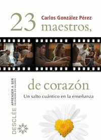 Libro 23 MAESTROS, DE CORAZON