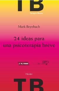 Libro 24 IDEAS PARA UNA PSICOTERAPIA BREVE