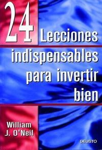 Libro 24 LECCIONES INDISPENSABLES PARA INVERTIR BIEN