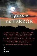 Libro 250 AÑOS DE TERROR