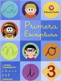 Libro 3  CONSONANTS: C, B, V, R , S, J, G, F.  PARAULES. COLECCIÓN PRIMERA ESCRIPTURA - LLIGADA INFANTIL CAT