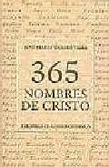 Libro 365 NOMBRES DE CRISTO
