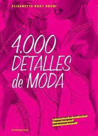Libro 4000 DETALLES DE MODA