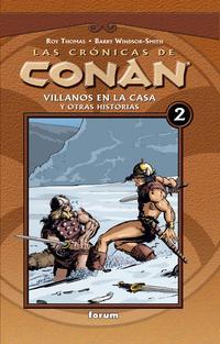 Libro 4HU5: LAS CRONICAS DE CONAN Nº2: VILLANOS EN LA CASA Y OTRAS HIST IAS