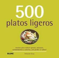 Libro 500 PLATOS LIGEROS