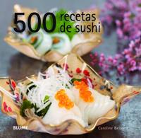 Libro 500 RECETAS DE SUSHI