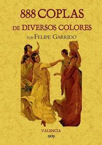 Libro 888 COPLAS DE DIVERSOS COLORES