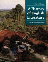 Libro A HISTORY OF ENGLISH LITERATURE