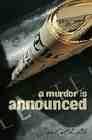 Libro A MURDER IS ANNOUNCED