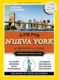 Libro A PIE POR NUEVA YORK 2012