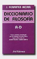 Libro A-D: DICCIONARIO DE FILOSOFIA