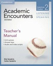 Libro ACADEMIC ENCOUNTERS LEVEL 2 TEACHER S MANUAL LISTENING AND SPEAKING 2ND EDITION