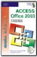 Libro ACCESS OFFICE 2003