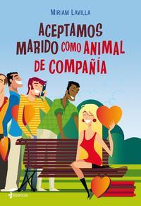 Libro ACEPTAMOS MARIDO COMO ANIMAL DE COMPAÑIA
