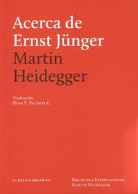 Libro ACERCA DE ERNST JUNGER