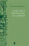 Libro ACERCA DE LA INVESTIGACION DE LA VERDAD