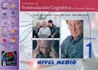 Libro ACTIVIDADES DE ESTIMULACION COGNITIVA EN PERSONAS MAYORES: NIVEL MEDIO, CUADERNO 1