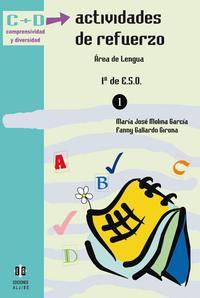 Libro ACTIVIDADES DE REFUERZO: AREA DE LENGUA. 1º DE ESO