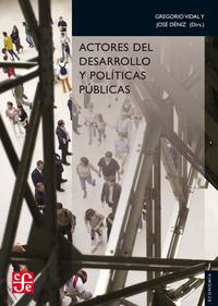 Libro ACTORES DEL DESARROLLO Y POLITICAS PUBLICAS