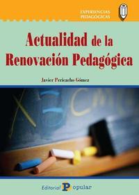 Libro ACTUALIDAD DE LA RENOVACION PEDAGOGICA