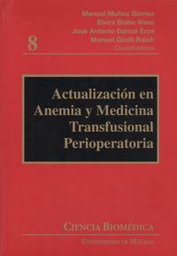 Libro ACTUALIZACION EN ANEMIA Y MEDICINA TRANSFUSIONAL PERIOPERATORIA