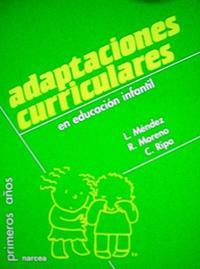 Libro ADAPTACIONES CURRICULARES EN EDUCACION INFANTIL
