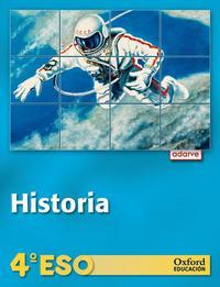 Libro ADARVE  HISTORIA 4º ESO LA 2012