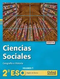 Libro ADARVE CIENCIAS SOCIAL 2º ESO LA TRIM MURCIA