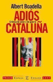Libro ADIOS CATALUÑA