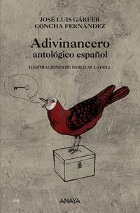 Libro ADIVINANCERO: ANTOLOGICO ESPAÑOL