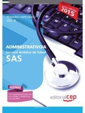 Libro ADMINISTRATIVO/A. SERVICIO ANDALUZ DE SALUD. TEMARIO ESPECÍFICO. VOL.III