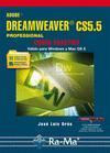 Libro ADOBE DREAMWEAVER CS5.5 PROFESIONAL: CURSO PRACTICO