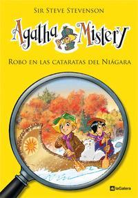 Libro AGATHA MISTERY 4: ROBO EN LAS CATARATAS DEL NIAGARA